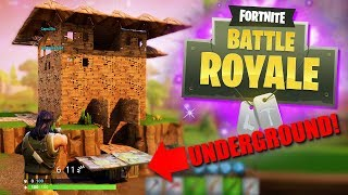BUILDING THE ULTIMATE UNDERGROUND FORT! | Fortnite Battle Royale Funny Moments