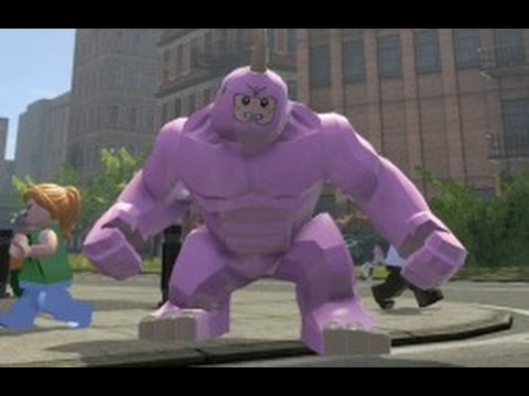 LEGO Marvel Super Heroes - Pink Rhino Free Roam Gameplay (PS4)