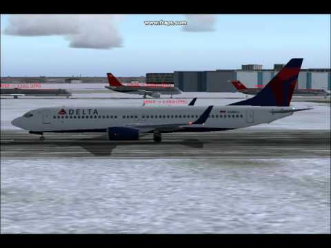 737-800 DELTA Air Lines Flight 5614 Minneapolis-Seattle