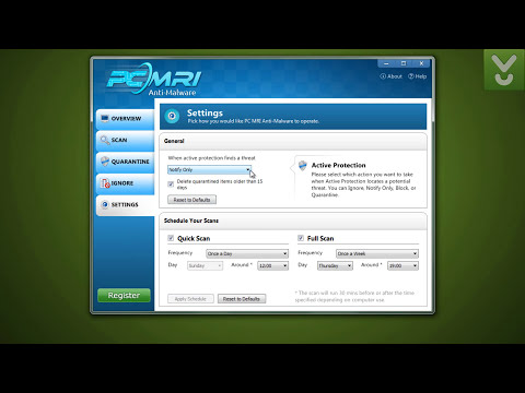 PC MRI Anti-Malware - Search and remove malware from your PC - Download Video Previews
