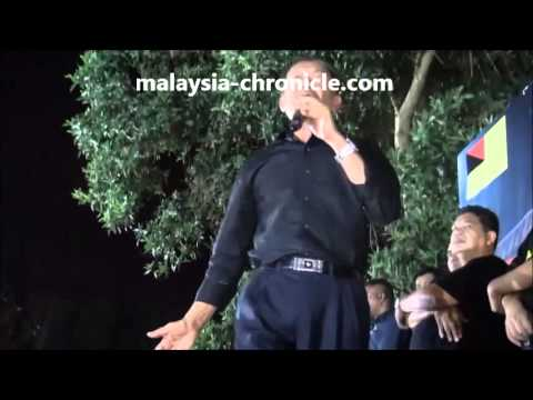 VIDEO Anwar's speech at Seremban Blackout 505