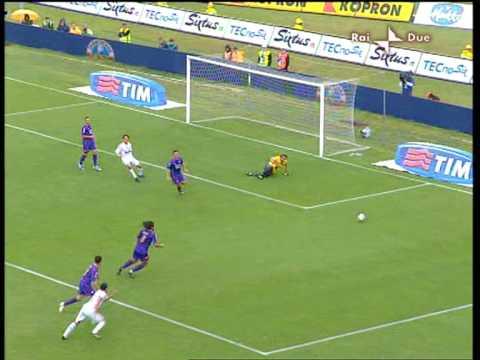 Fiorentina - Milan 0-2  ultima di campionato 08/09  addio di Paolo Maldini al calcio giocato