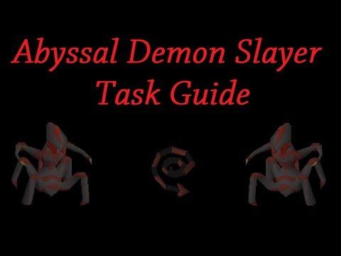 Oldschool Runescape Slayer Guides – Abyssal Demon Slayer Task Guide