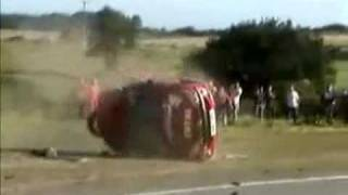 Worst car crash in the world