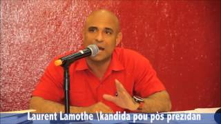 Laurent Lamothe registered for Candidate without knowing