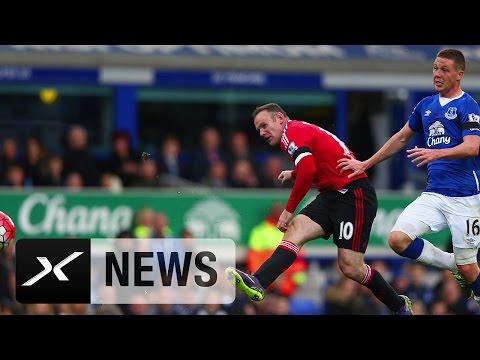 "Louis van Gaal: ""Wayne Rooney brauchte das Tor"" | Everton - Manchester 0:3 | Premier League"