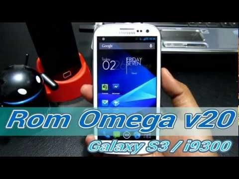 Jelly Bean 4.1.1 para tu Galaxy S3 i9300: Omega Rom v26 (Español Mx)