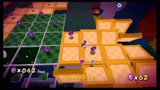 Super Mario Galaxy Playthrough - Toy Time Galaxy: Luigi's Purple Coins (Purple Comet)