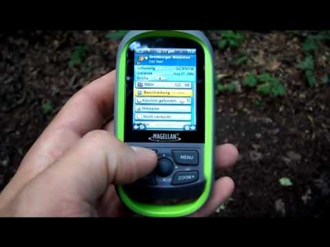 Magellan eXplorist GC Geocache finden / Geocaching