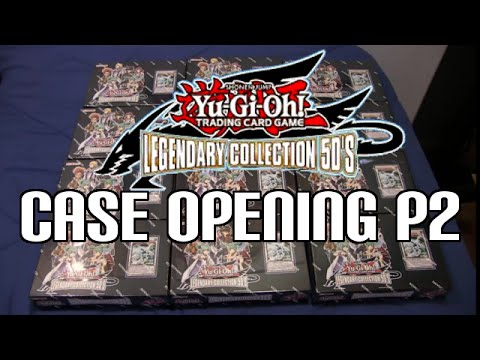 Yugioh Legendary Collection 5d's Case Opening Part 2 video