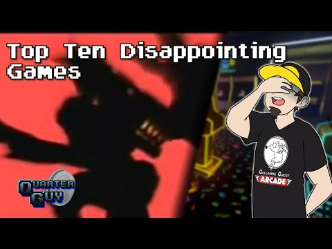 Top Ten Disappointing Games