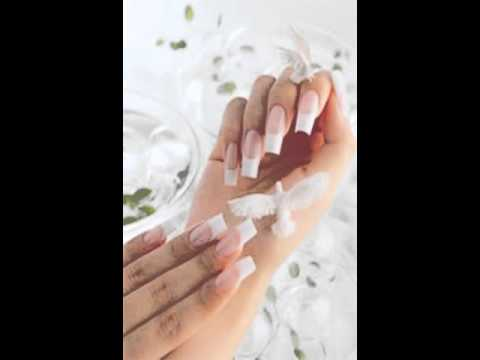 acrylic nails vs gel nails vs solar nails - YouTube
