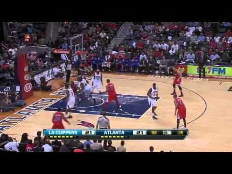 Los Angeles Clippers vs Atlanta Hawks - April 24 2012