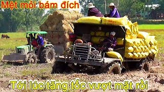This truck tractor self made was faster than  tractor John Deere 5075E