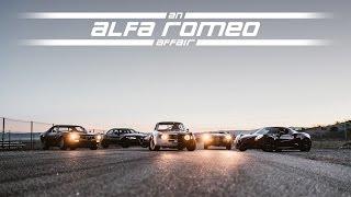 2017 Alfa Romeo Giulia - An Affair with the 4C, Montreal, Giulietta, and GTA