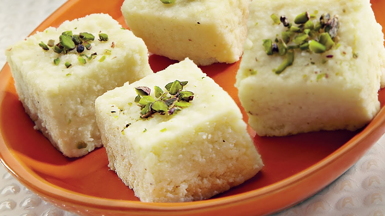 Indian Milk Cake Recipe Ricotta