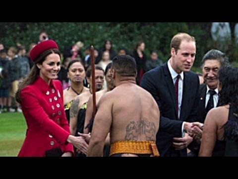 Man in thong: Eyes up here, Duchess!