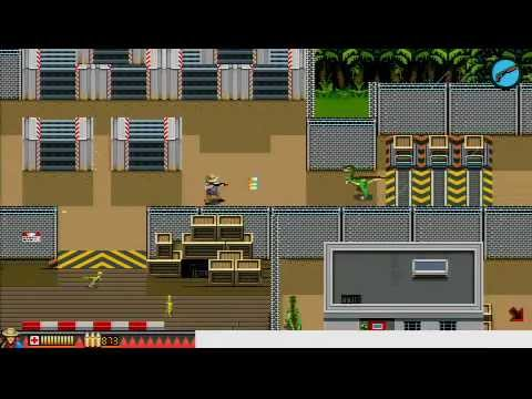 PSPKVM - Jurassic Park 1.2.5 - walkthrough