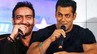 Ajay Devgn Is A Very FUNNY MAN, Says Salman Khan - Throw Back