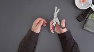 YLEA : Vidéo Ciseaux multifonctions Leatherman Raptor