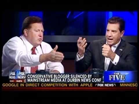 FOX NEWS HOSTS ARGUE ABOUT DURBIN VIDEO
