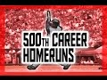 MLB: 500th Career Homeruns MP3