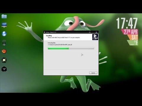 Descargar directx 11 (MEDIAFIRE) para windows xp/Vista/7 y 8