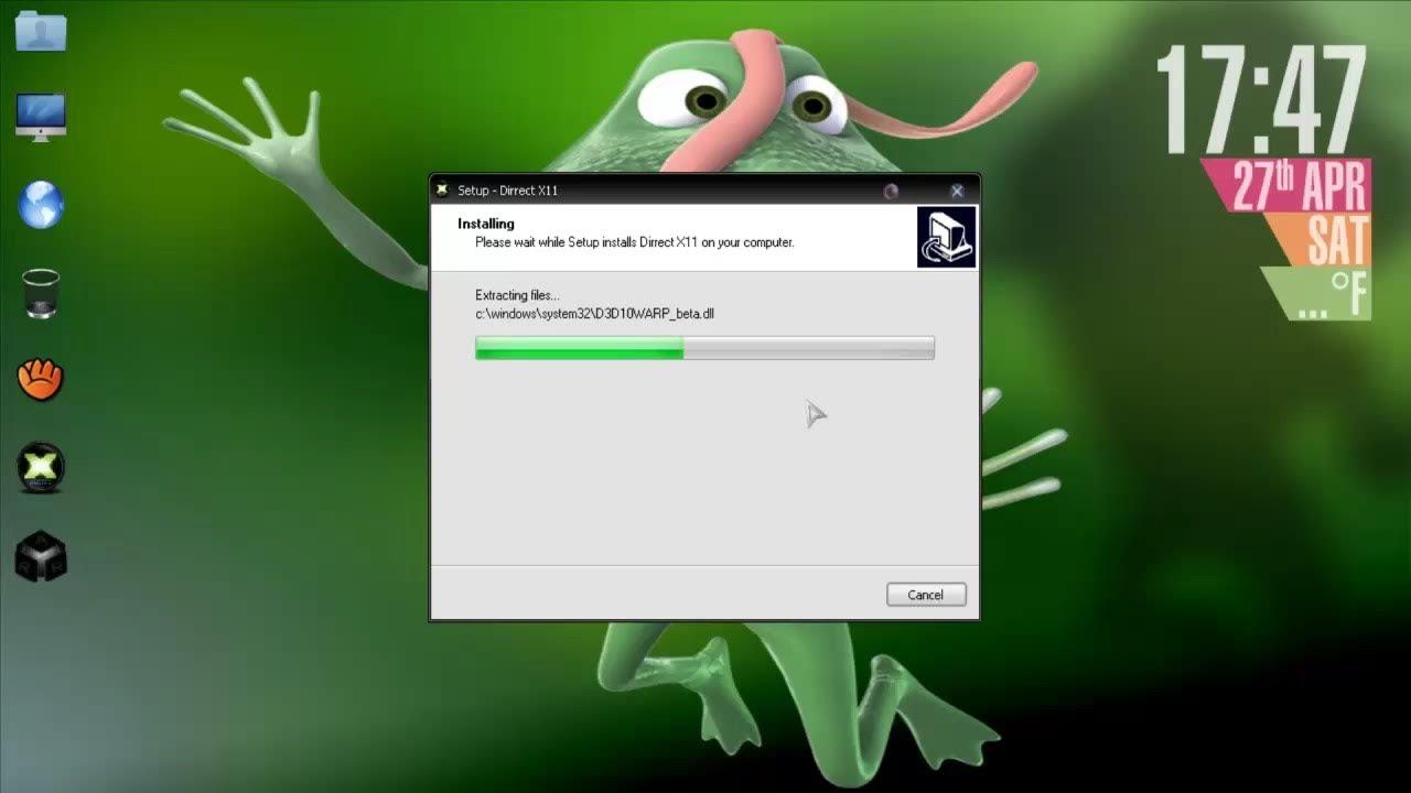 directx 13 windows 7 64 bits descargar