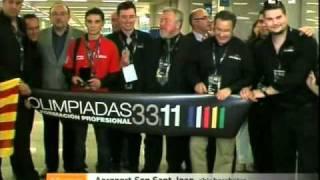 Premiats A L'Olimpíada De FP De Madrid