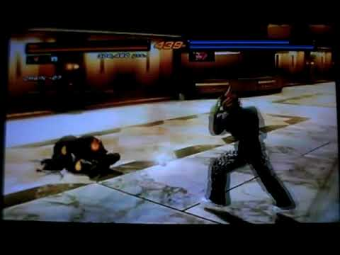 Tekken 6 - Jin (SigmaSudou) & Alisa (CPU) at Millennium Tower (Hard) Video
