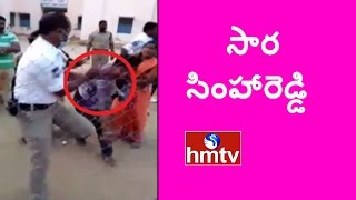 Drunk Man Beats Traffic Police In Front Of Police Station | Jordar News | HMTV
