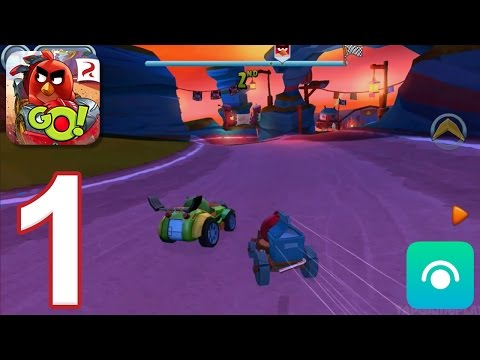 Angry Birds Go! 2.0 - Gameplay Walkthrough Part 1 - Campaign 1: Bomb (iOS, Android)