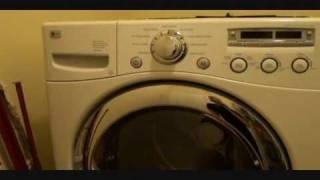 lg washing machine leaking from bottom