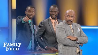 The OBUS are on the Feud! | Family Feud
