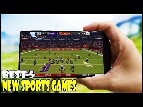 Top 5 Best New Sports Games for Android/iOS in 2016/2017 || High Graphics Games