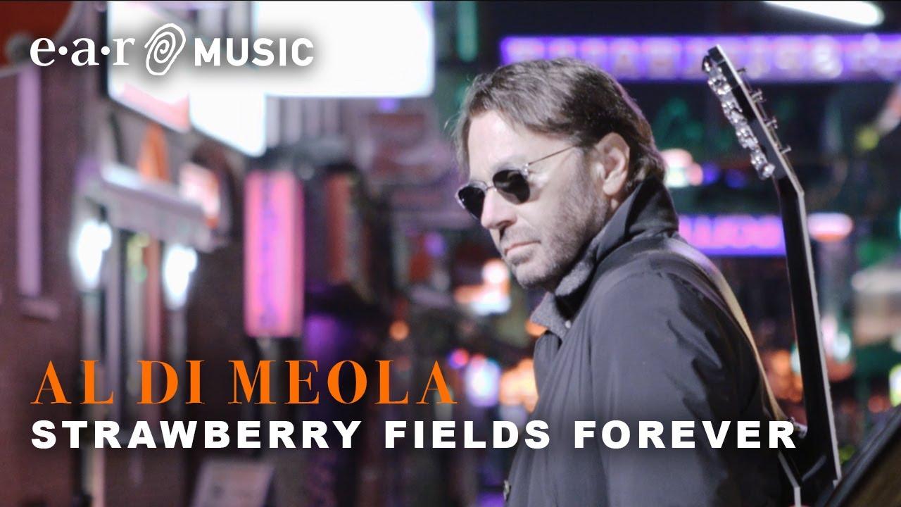 "Al Di Meola - ""Strawberry Fields Forever""のMVを公開 新譜「Across The Universe」 2020年3月13日発売予定 The Beatlesトリビュート・アルバム thm Music info Clip"