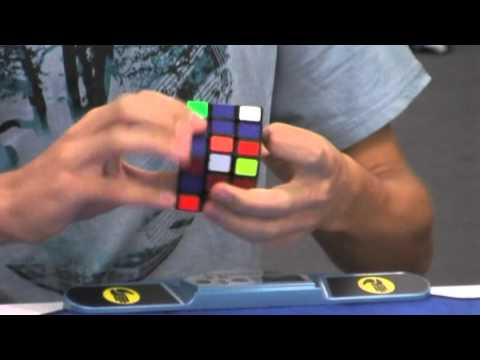Rubik's cube one handed OcR - 13.60 and 3x3 average - 8.85