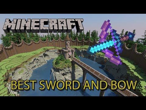 Minecraft Tutorial[1.7.X] - La espada y el arco con más daño posible en el juego