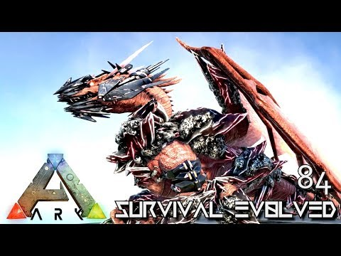 ARK: SURVIVAL EVOLVED - NEW BABY TEK DRAGON & ALPHA BABIES MYTH E84 (MOD EXTINCTION CORE)