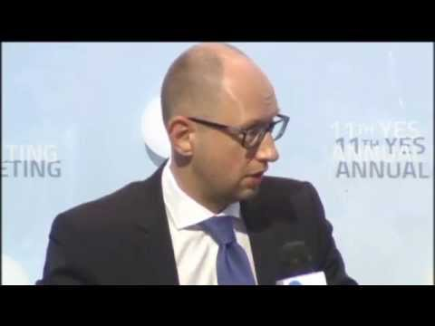 """Putin Plans to Destroy Ukraine"": Ukraine PM Yatsenyuk says NATO is best deterrent against Kremlin"
