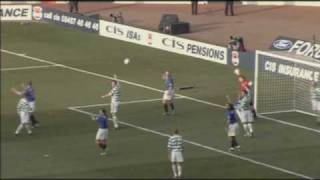 Rangers 2 - Celtic 1 - League Cup Final 2003
