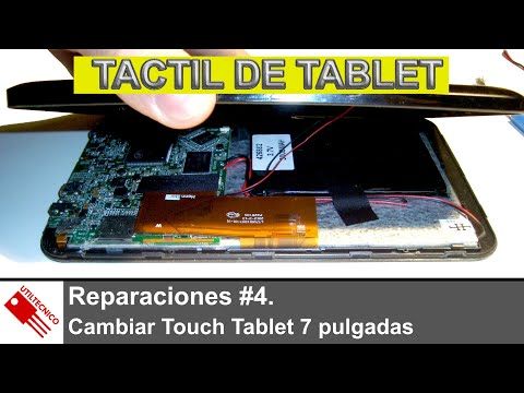Cambiar Touch Tablet 7 pulgadas Lark