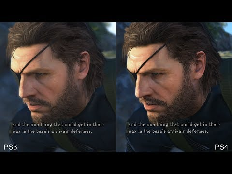 Metal Gear Solid: Ground Zeroes - PS4 vs. PS3 Comparison