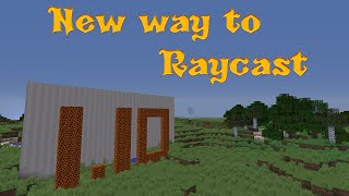 A New Way to Raycast in 1.10 - Minecraft Tutorial