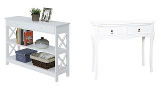 Top 5 Best White Console Tables 2019