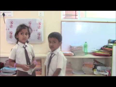 Sp.english Class - Ukg Children By Radhika video