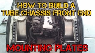TFSS: How To Build A Tube Chassis Front End - Mounting Plates