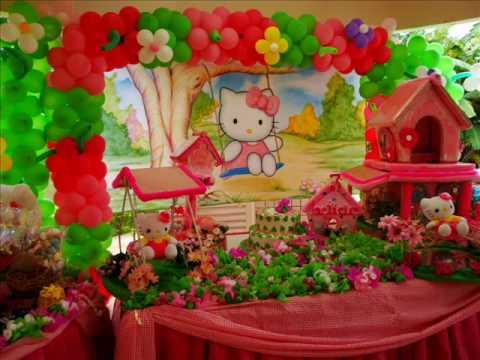 WN - decora??o tema hello kitty