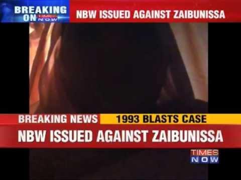 Non-Bailable Warrant issued against Zaibunissa Kazi