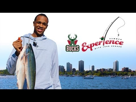 Go Fish(ing) with John Henson